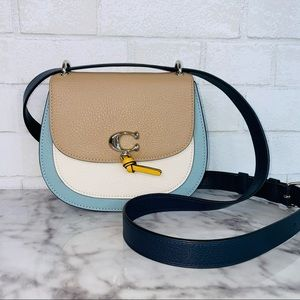 Coach Remi Colorblock Saddle Bag Crossbody